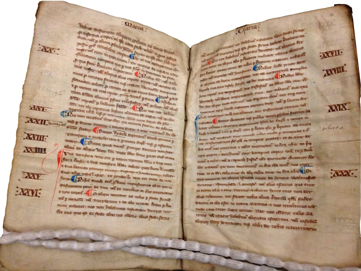 Hart Book of Statutes, Magna Carta