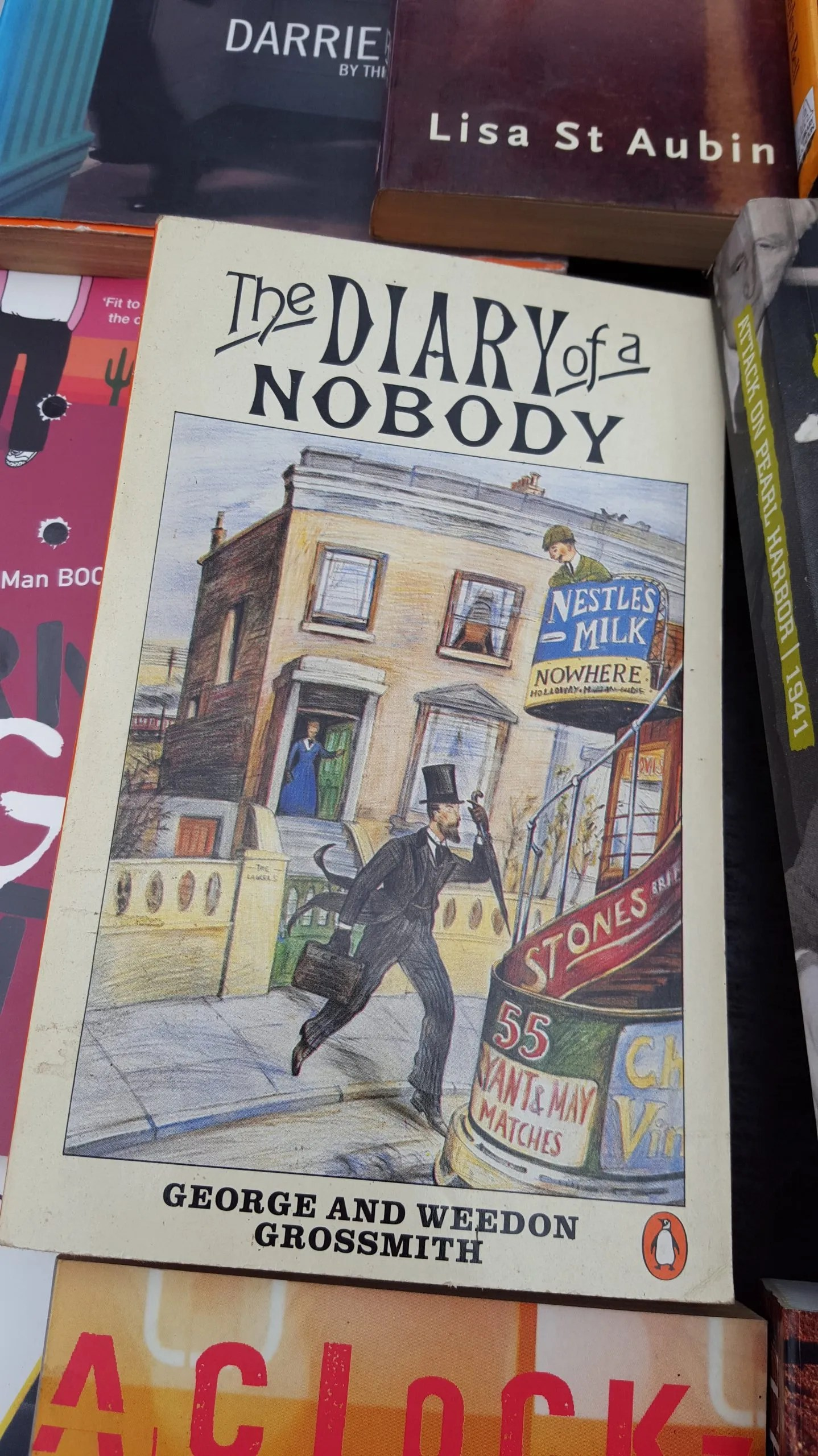 Diary of a Nobody by George and Weedon Grosssmith Book Review of a  British comedy classic. #BookReview #Classic #Comedy #BooksToReadNow