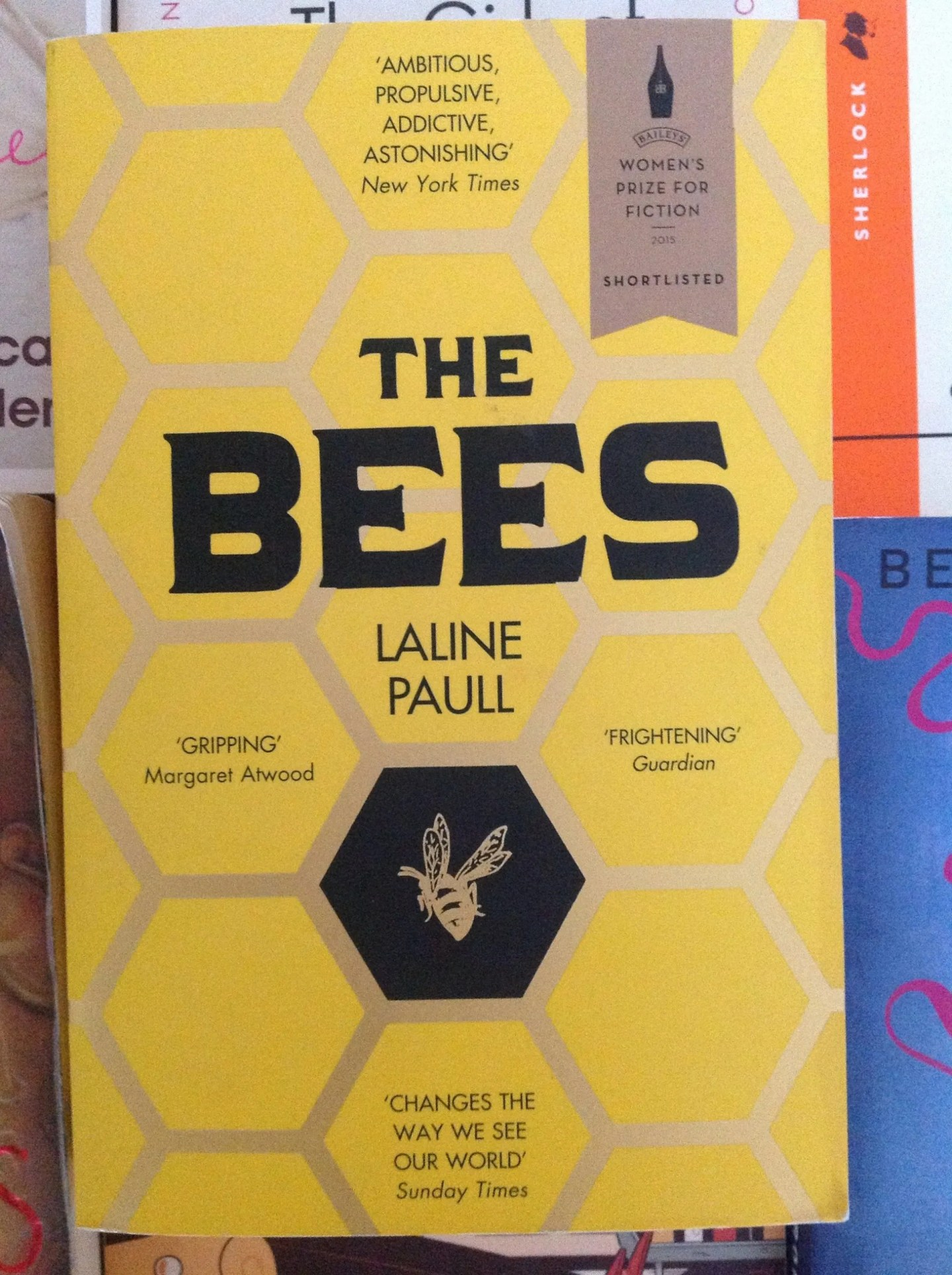 The Bees Laline Paull cover