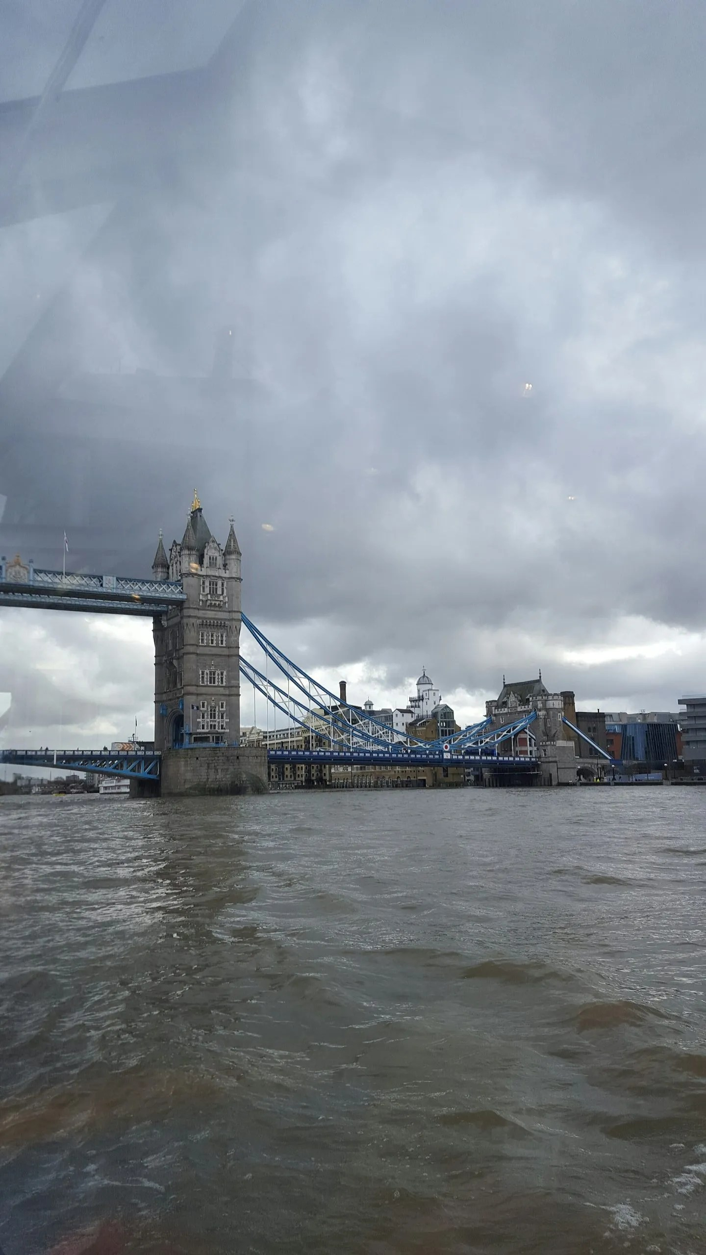 Tower Bridge London moody sky
