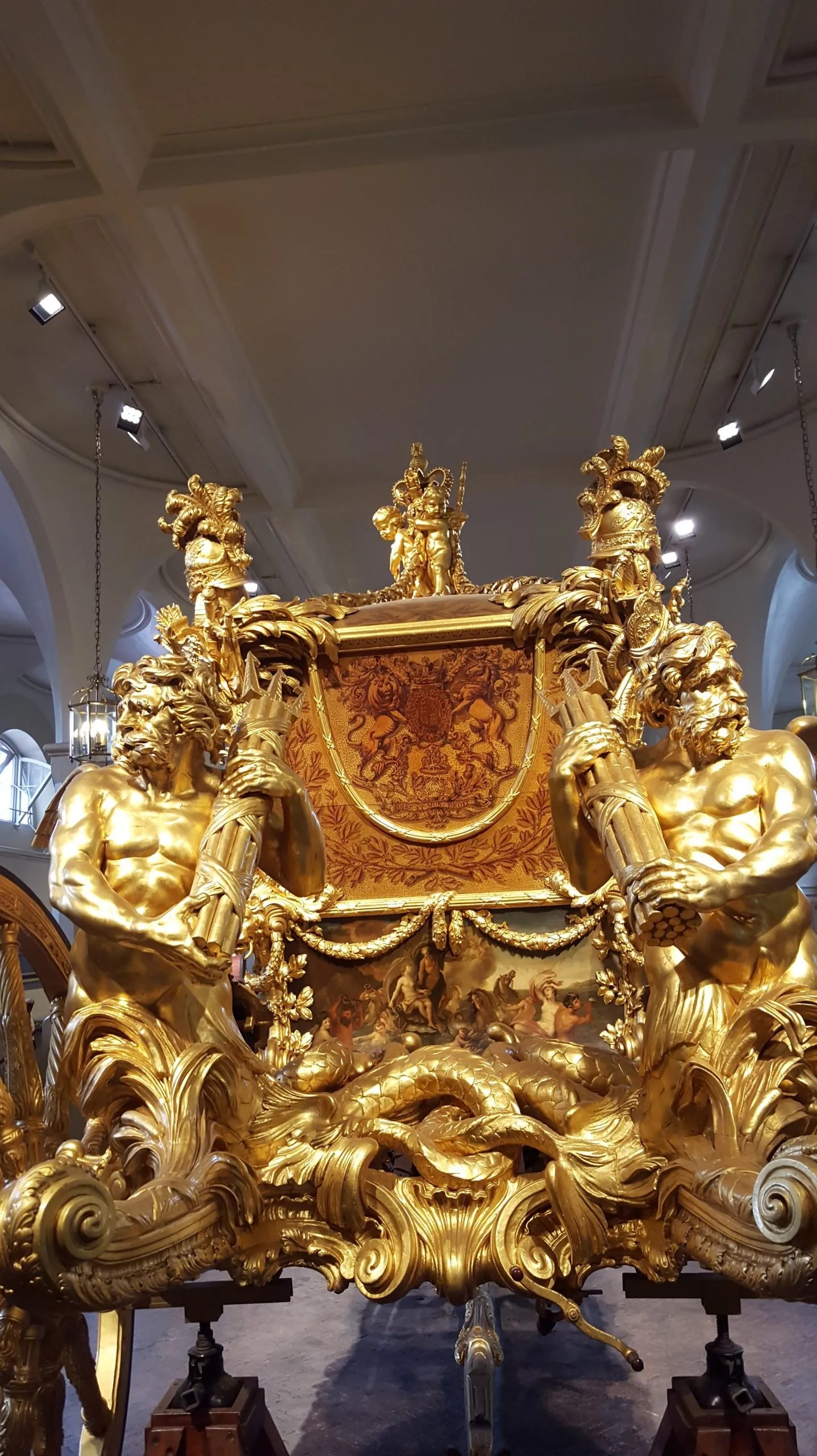 Gold State Coach Royal Mews