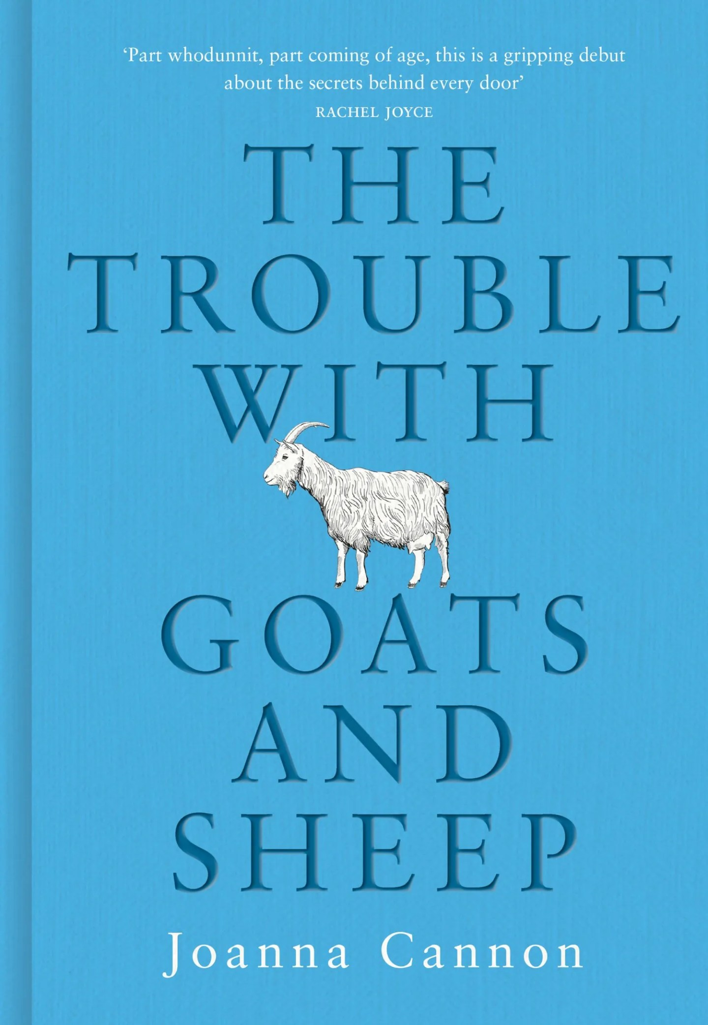Trouble With Goats and Sheep Joanna Cannon cover