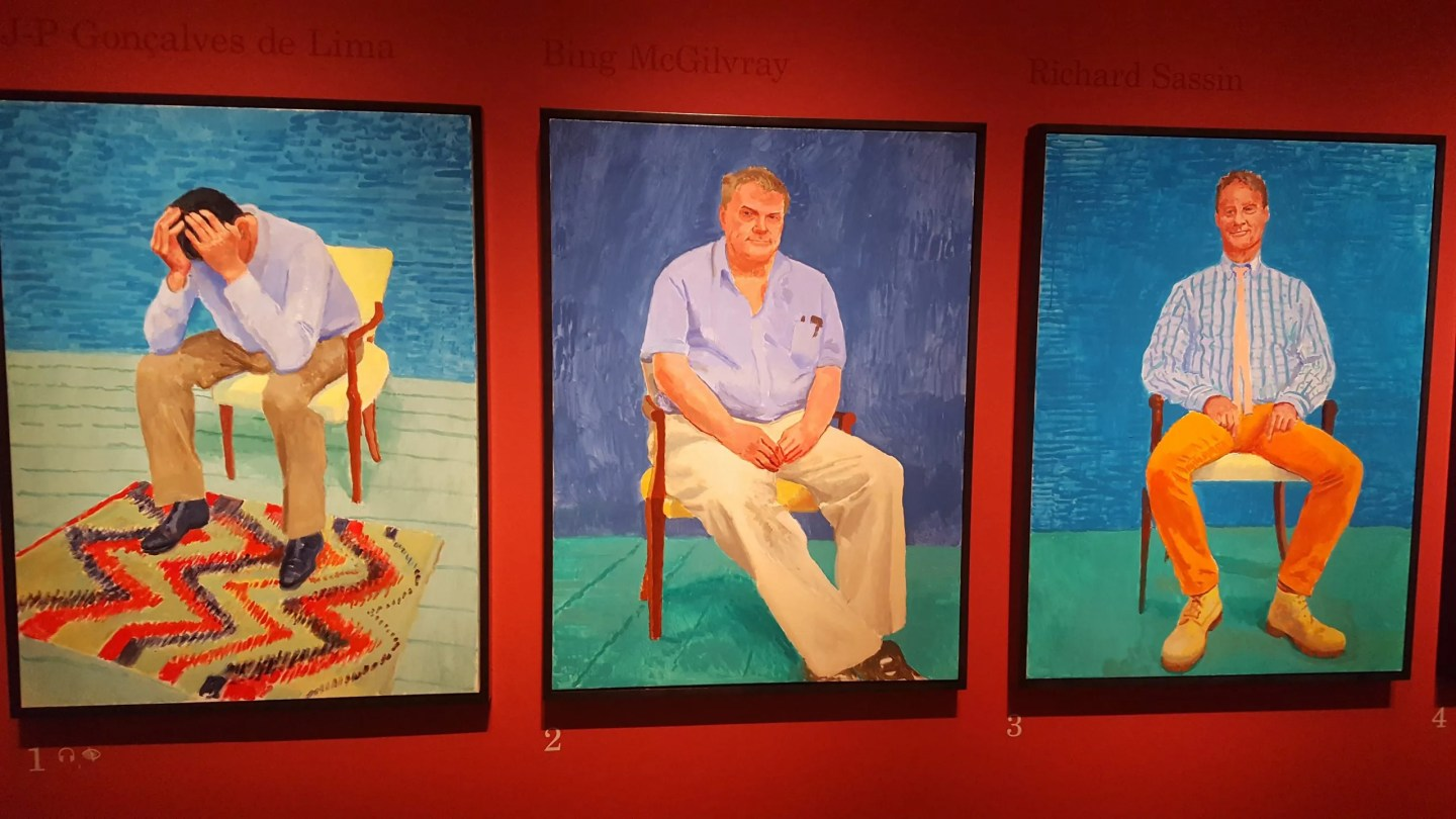 J-P Goncalves, David Hockney