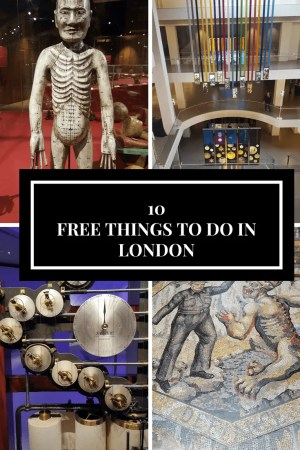 10 Free things to do in London with teens