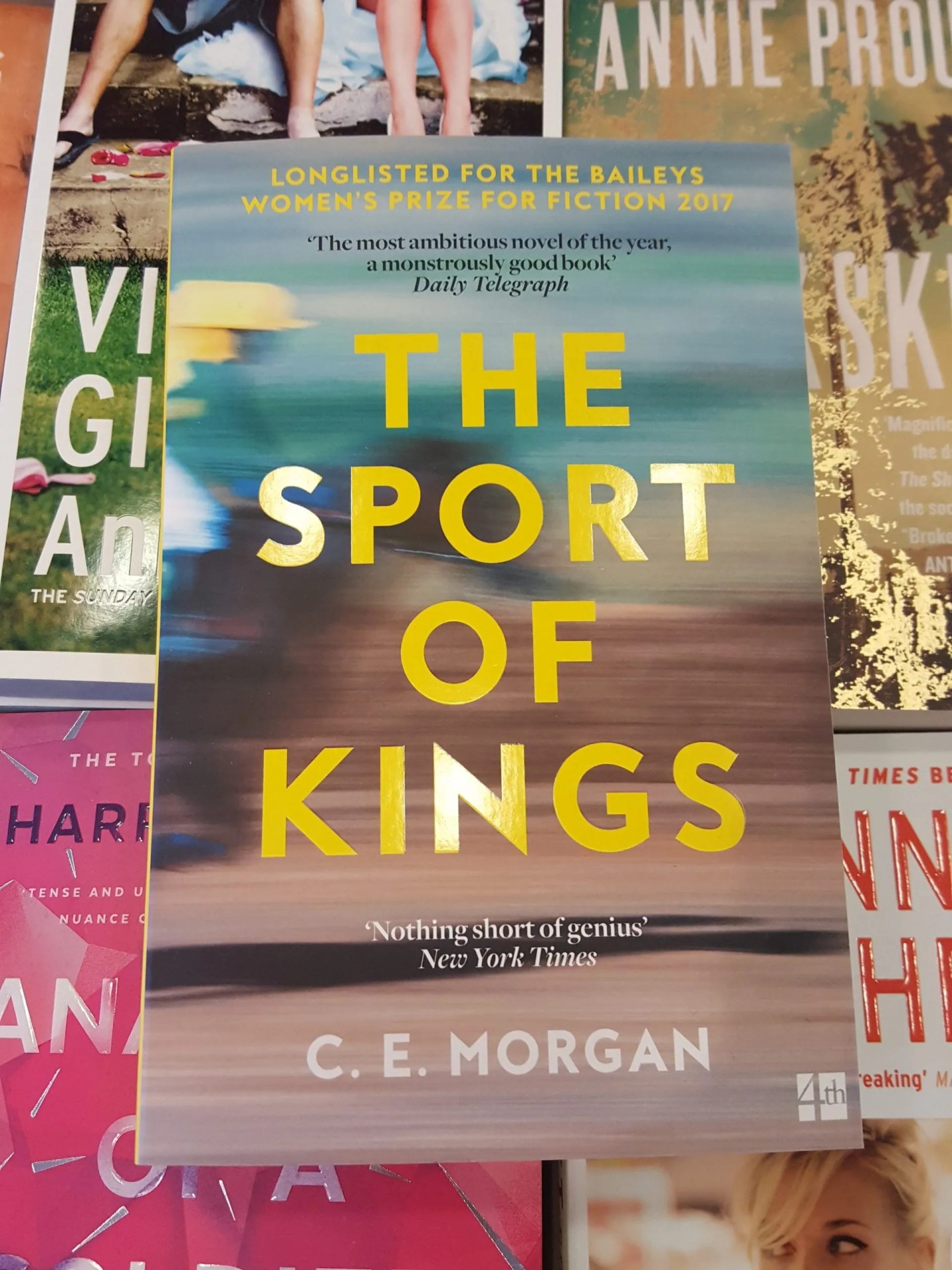 BOOK REVIEW: THE SPORT OF KINGS by C E Morgan