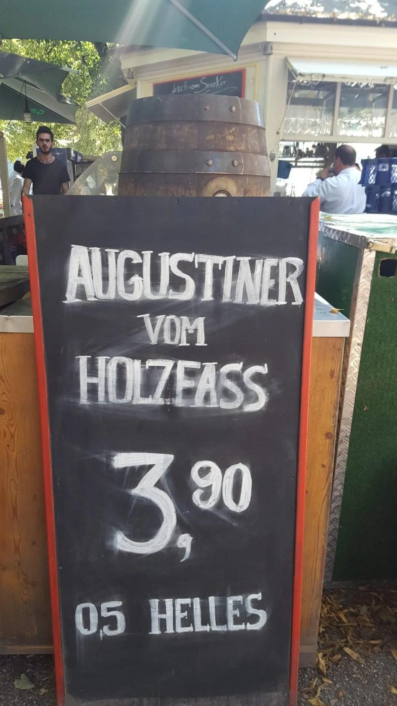 Munich Beer Gardens