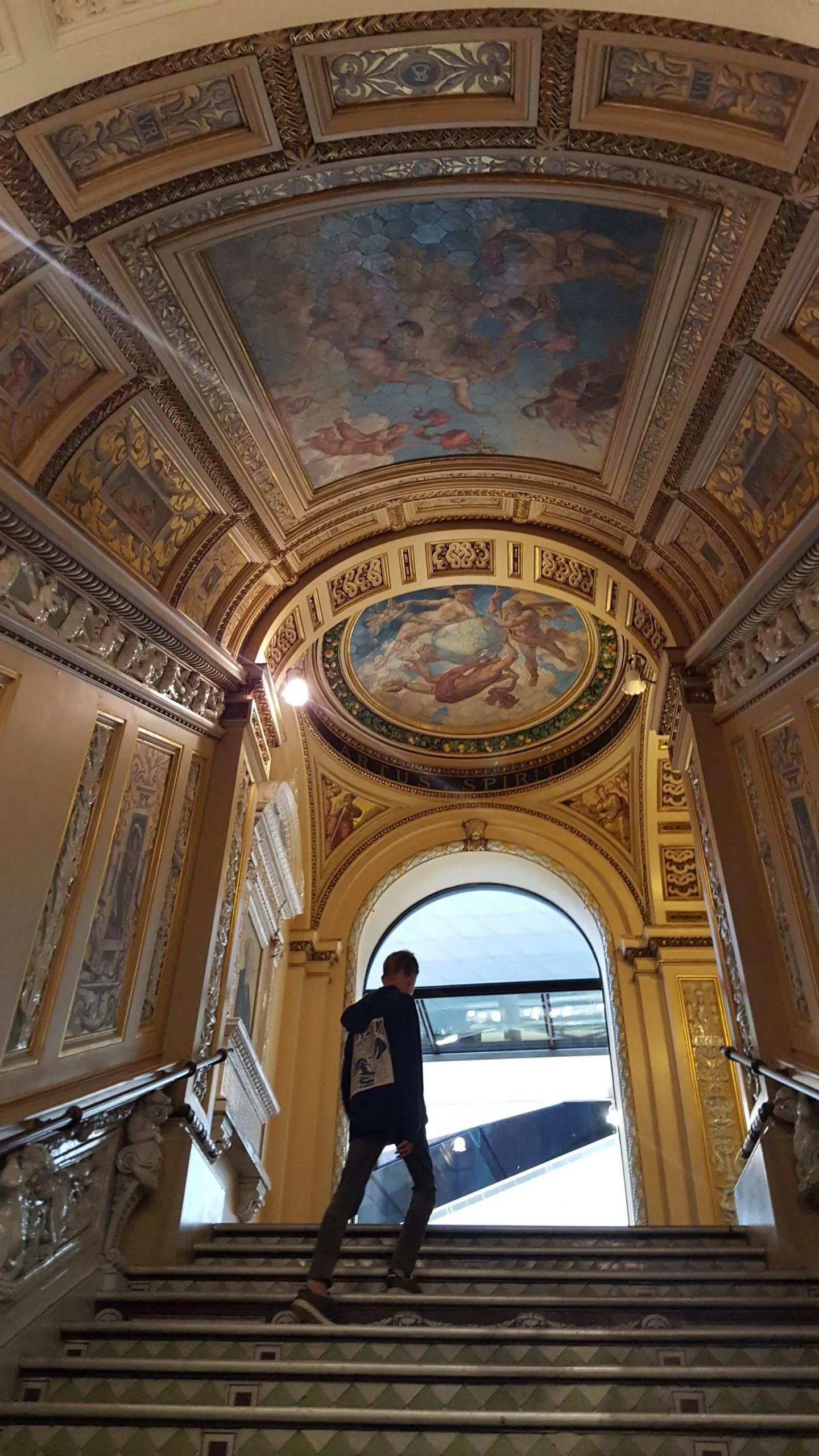 Ceramic Staircase V&A Treasure Hunt