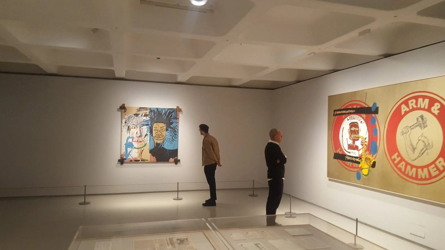 BASQUIAT BOOM FOR REAL at the Barbican