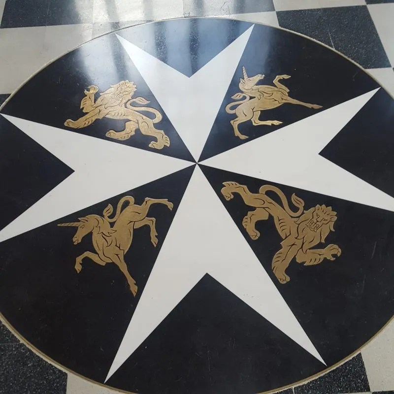 Order of St John Insignia Cross