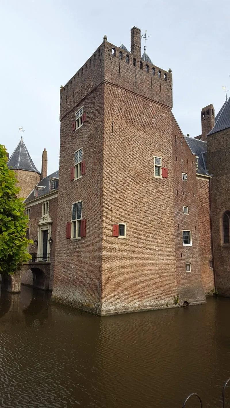 Heemskerk Castle with Moat