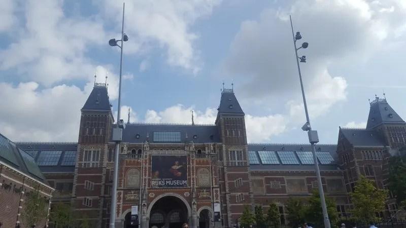 Visiting Rijksmuseum with Teens