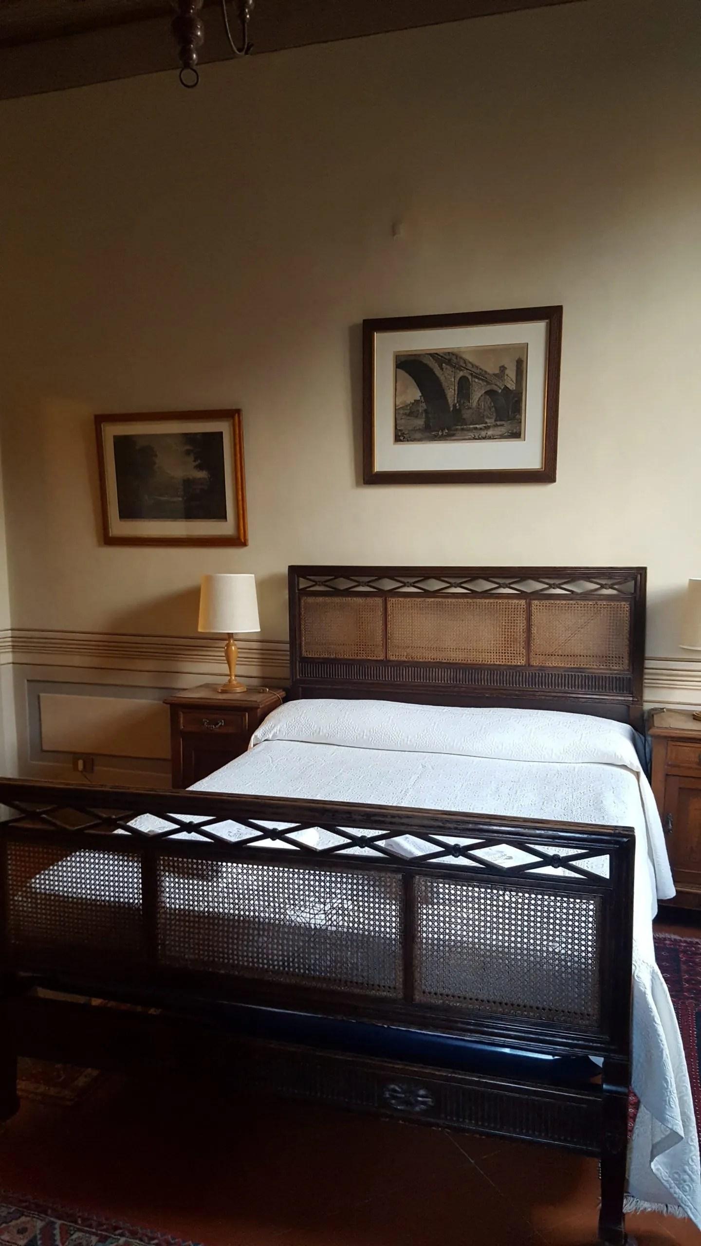 Keats Shelley house bedroom
