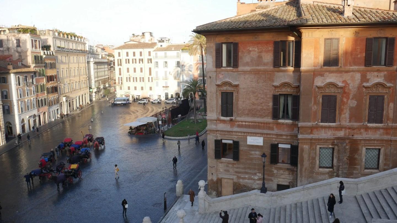 View from Landmark Rome