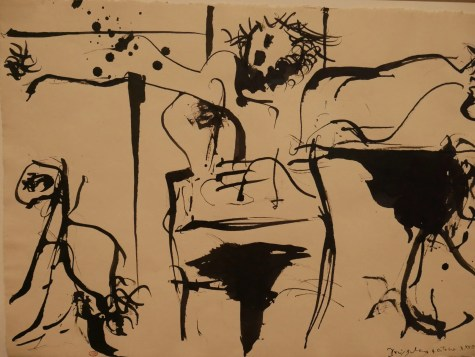Pen and ink Picasso