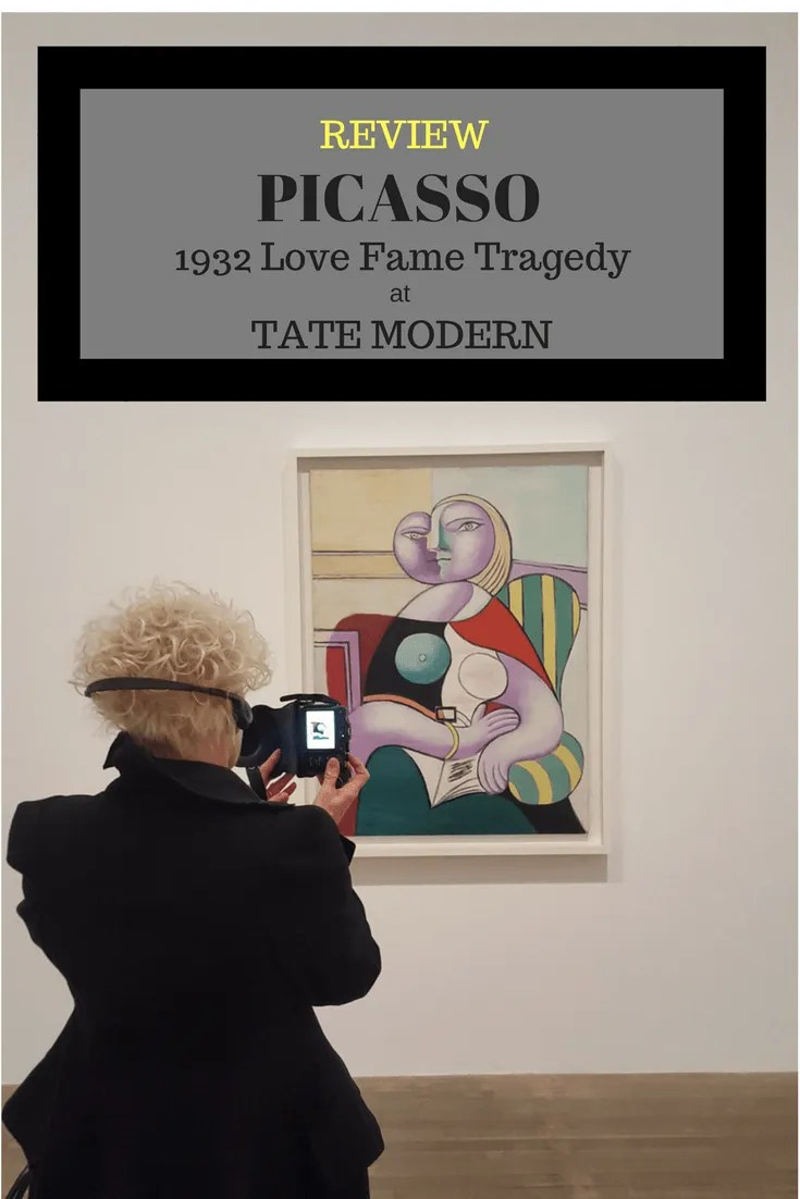 PICASSO 1932 LOVE, FAME TRAGEDY at Tate Modern