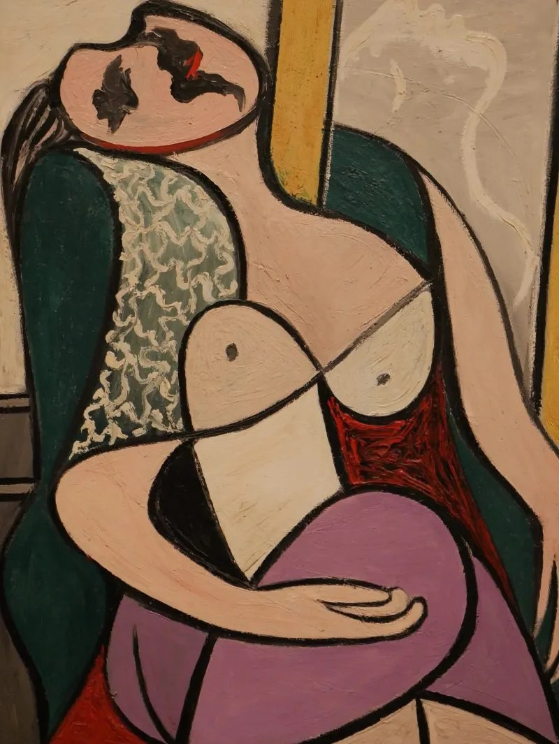 Picasso Marie Therese painting