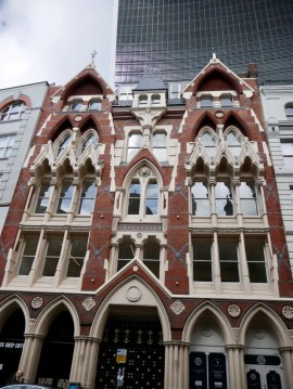Victorian Gothic former Vinegar warehouse on Eastcheap London