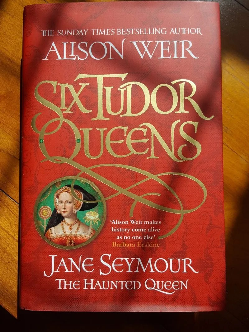 Jane Seymour Haunted Queen Alison Weir cover