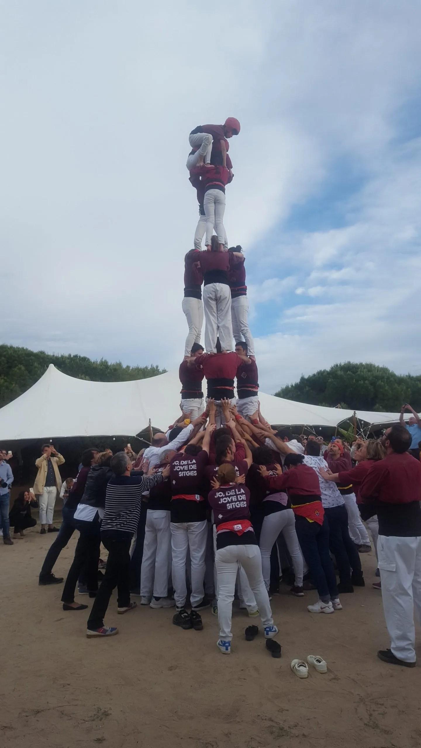 Casteller Human Tower