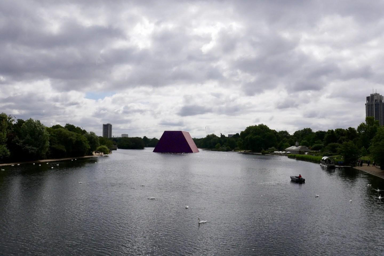 Christo London Mastaba Serpentine Hyde Park