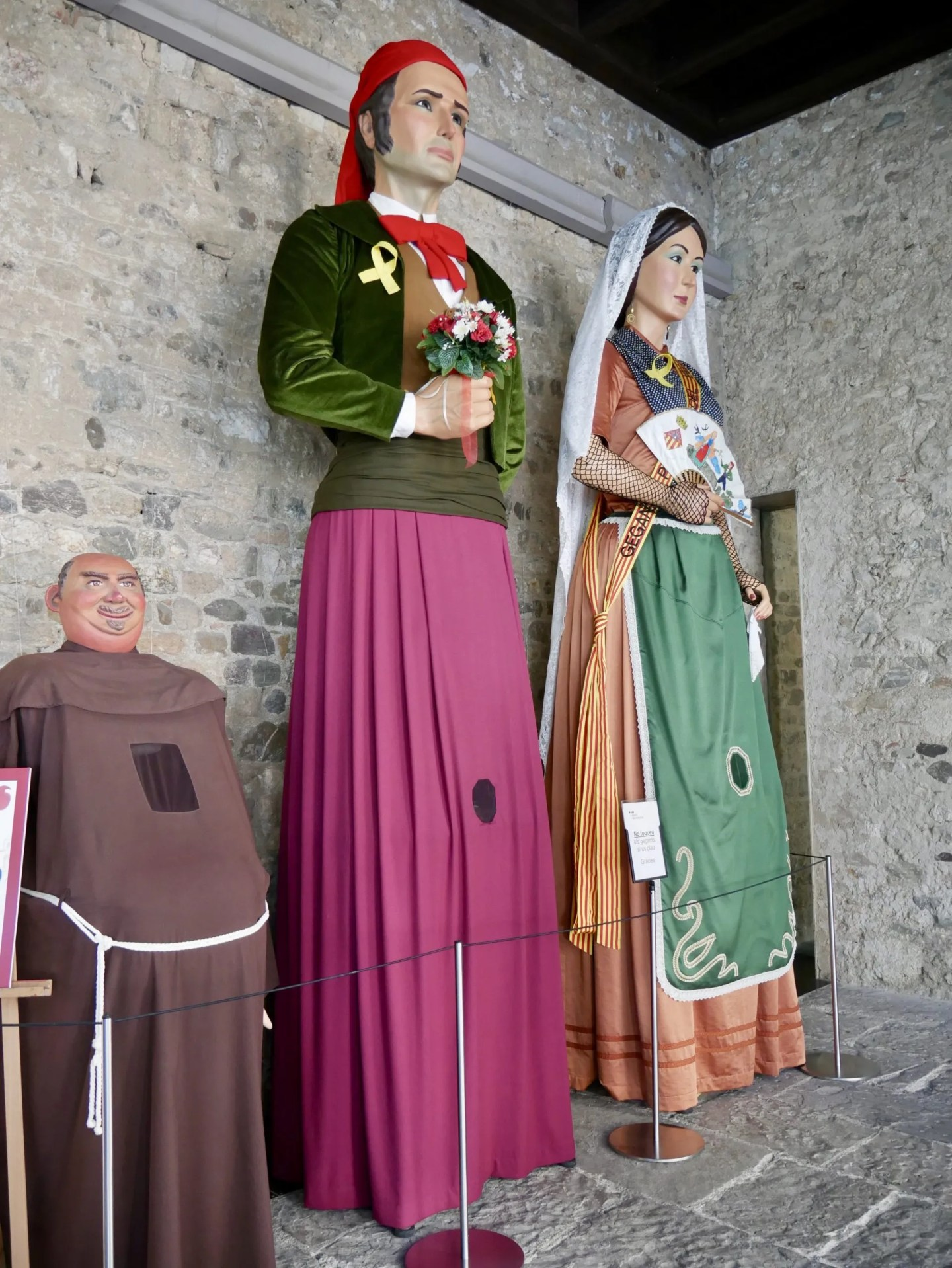 Gegants of Sant Cugat Joan and Marieta