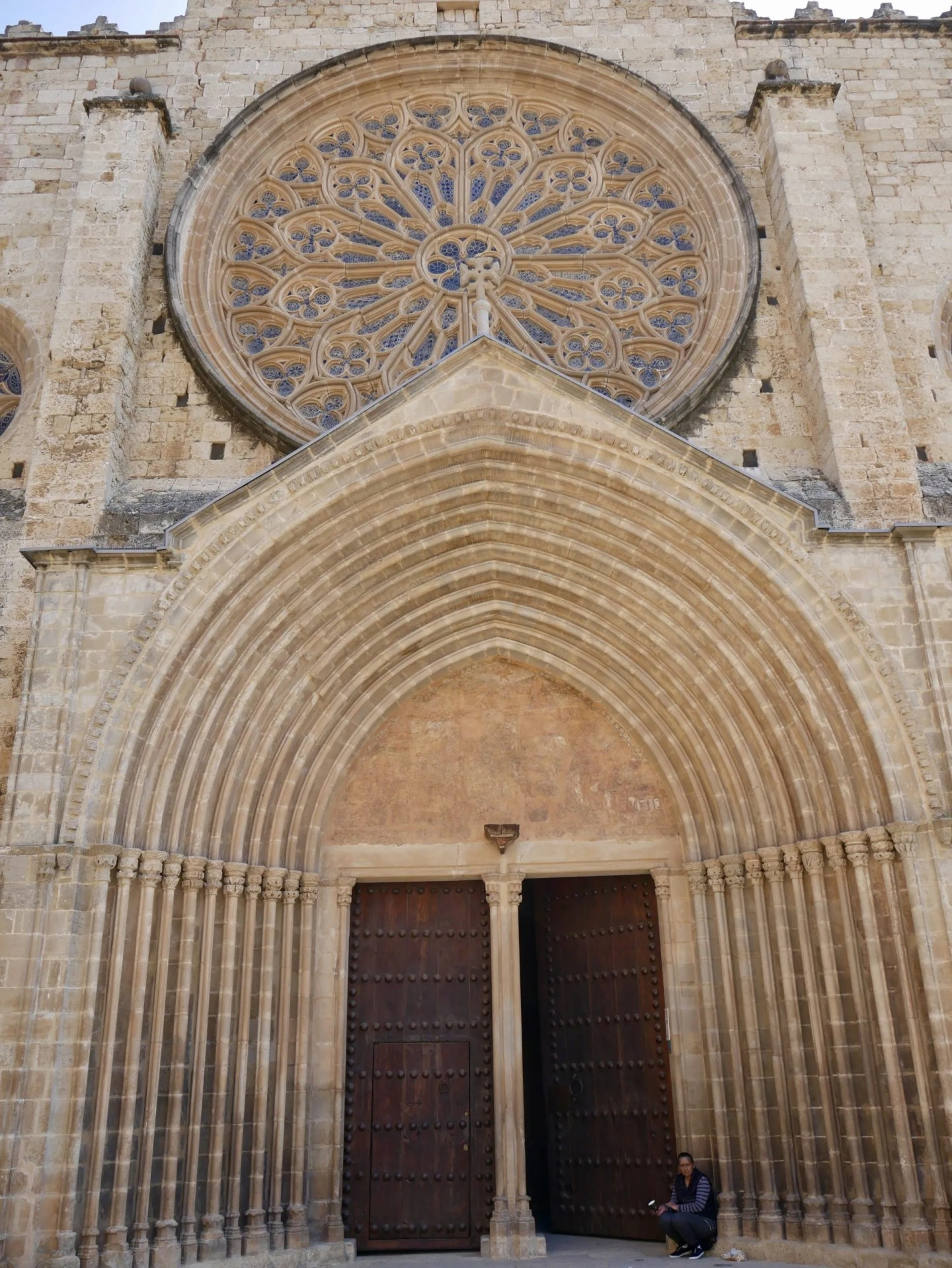 West Door Sant Cugat Monastery