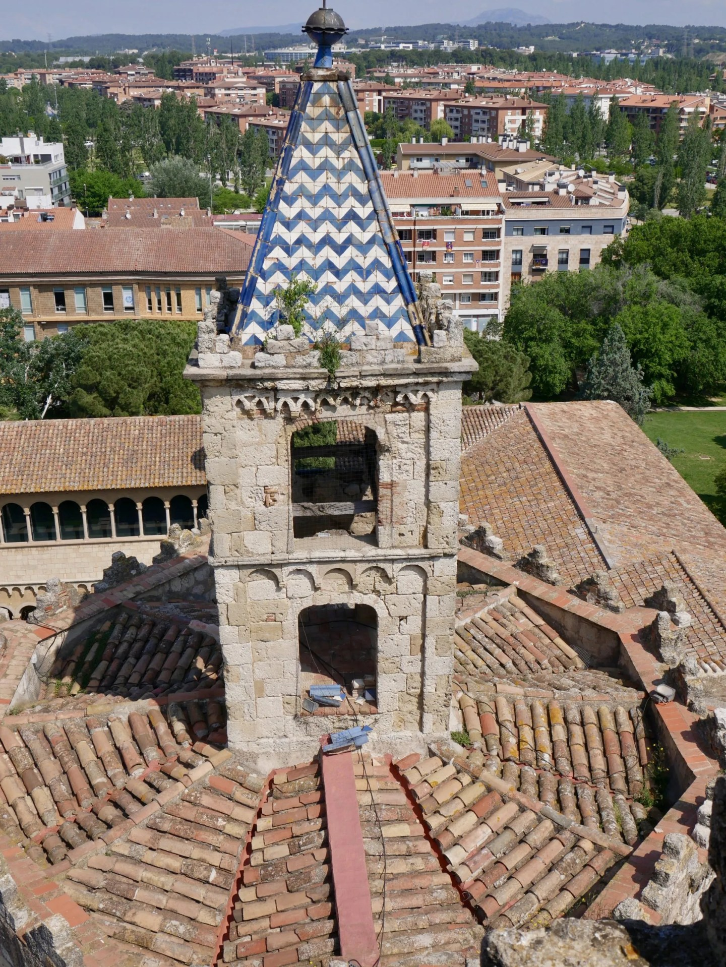 View Sant Cugat Bell Tower