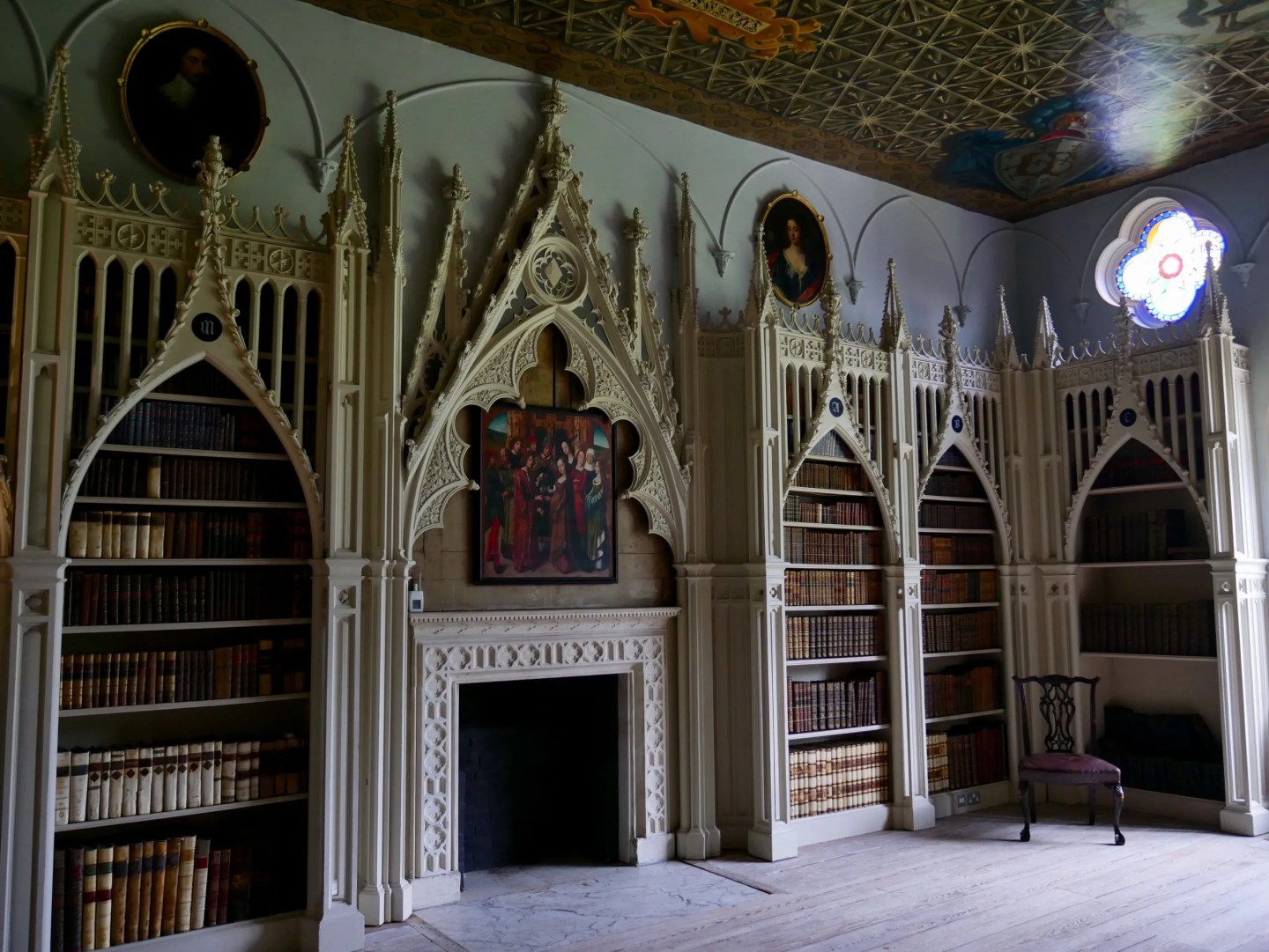 Library Strawberry Hill House