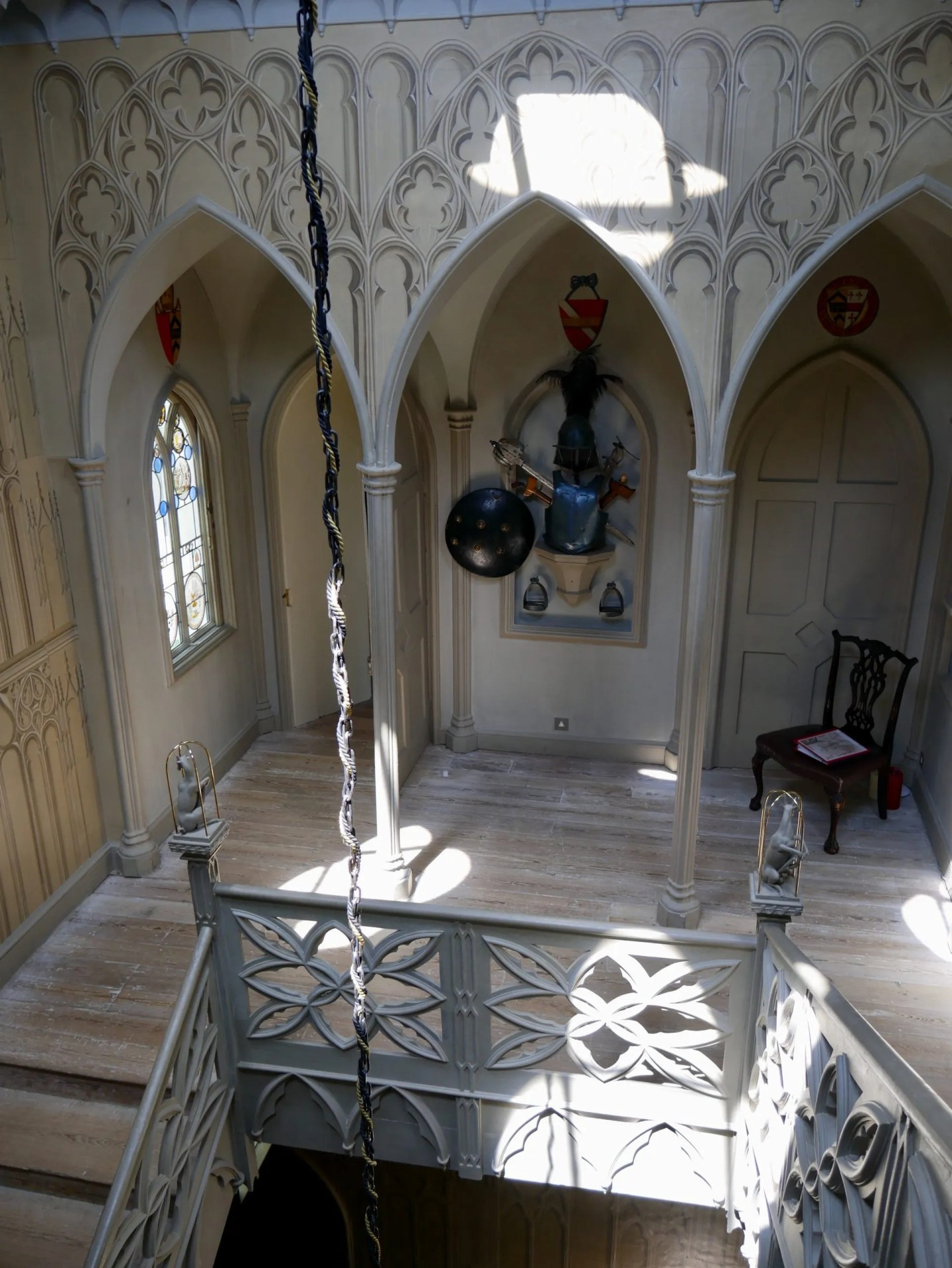 Staircase Strawberry Hill House