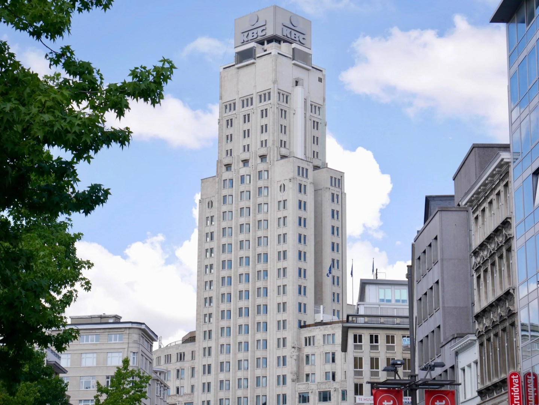 Europe's first skyscraper Boerentoren Antwerp