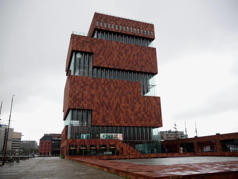 MAS Museum aan de Stroom Antwerp exterior