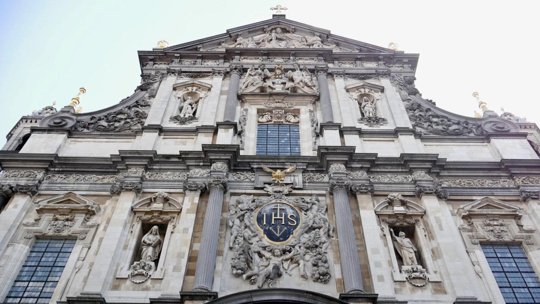 St Carolus Borremeus Church Antwerp exterior
