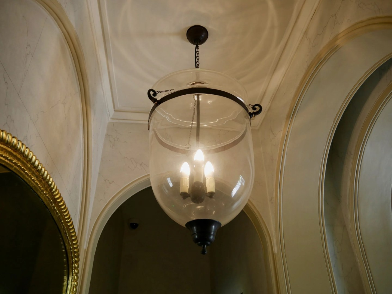 Turners House Hall light