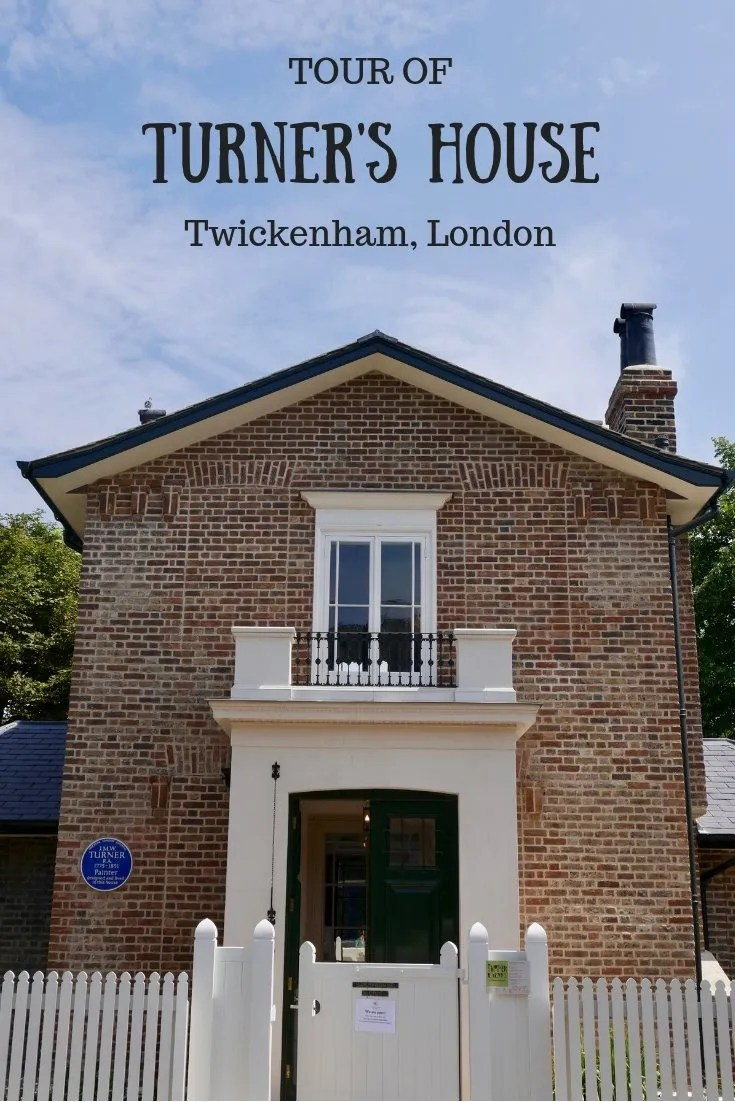 A TOUR OF TURNER'S HOUSE, LONDON