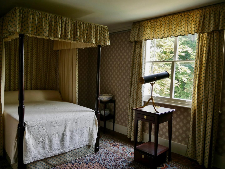 JMW Turner bedroom