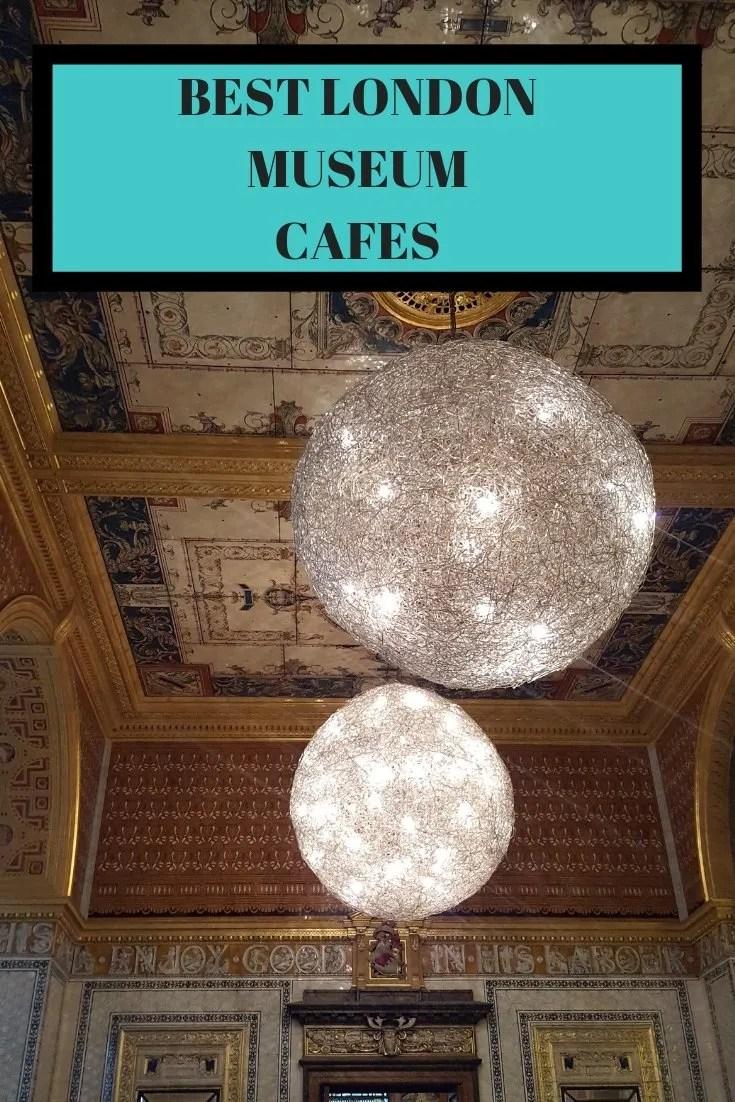 Best London Museum Cafes