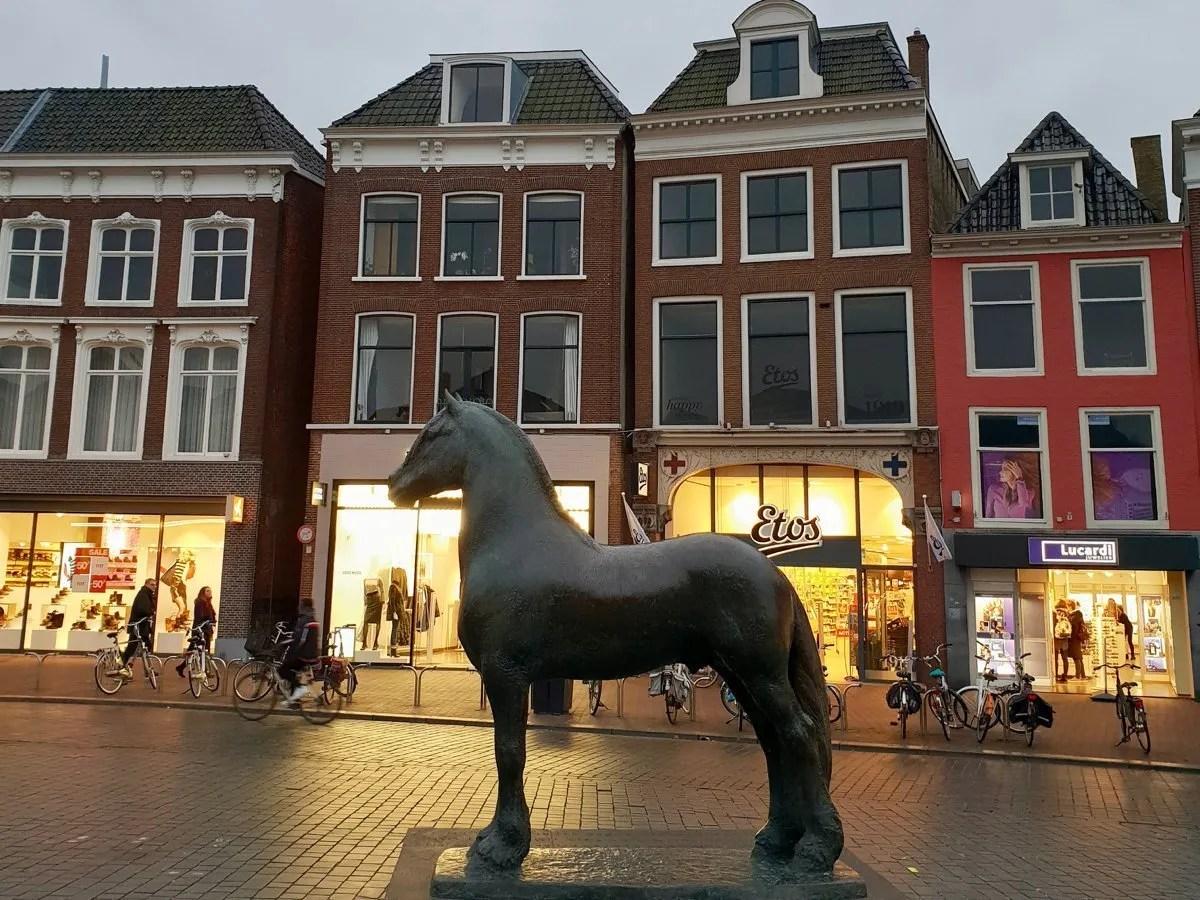 Frisian Horse statue