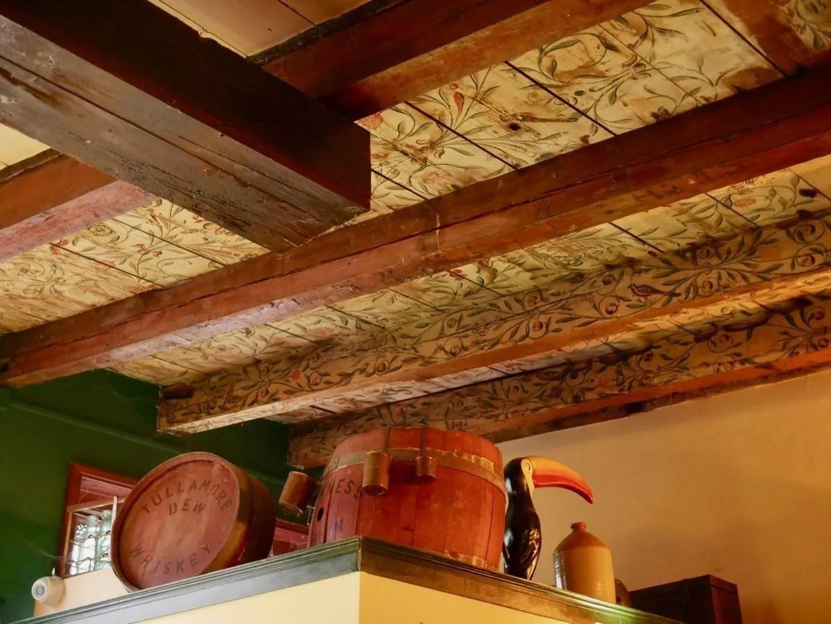 Painted Ceiling Leeuwarden