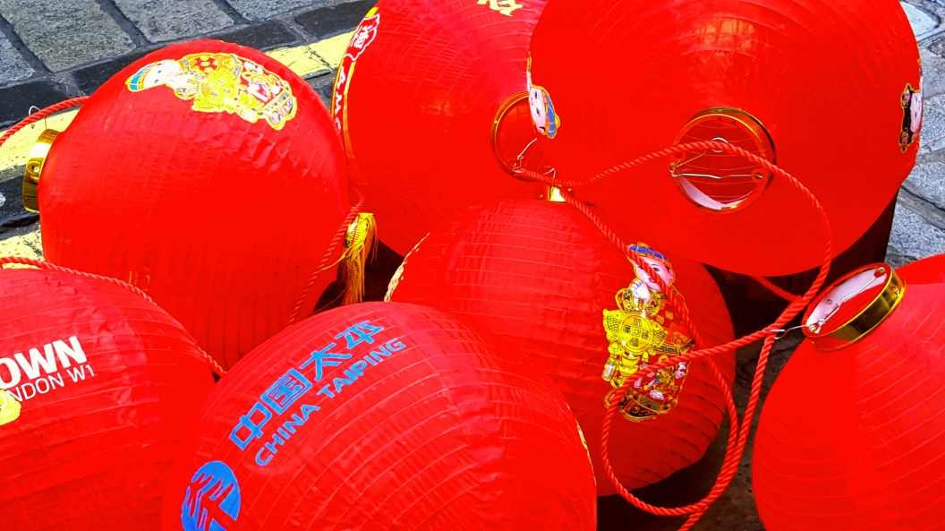 China Town New Year Lanterns
