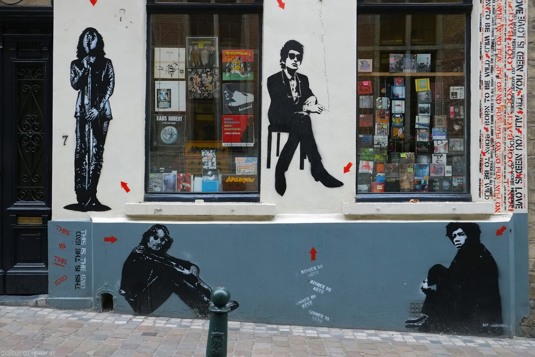 Jef Aerosol Street Art Brussels