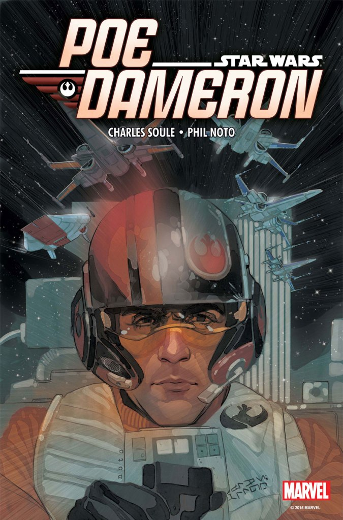 poe dameron star wars hq cover