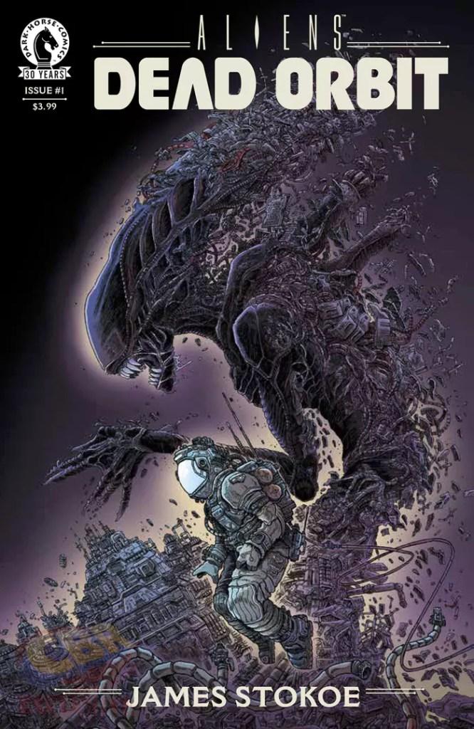Aliens, Órbita Morta capa