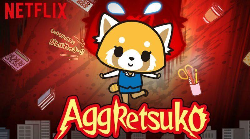 Netflix estreia Aggretsuko Anime Season 3 em 27 de agosto