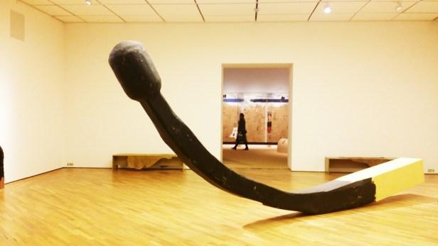 Sidsel Paaske. Brent fyrstikk. 1966. Foto: fra utstillingen. Siri Wolland.