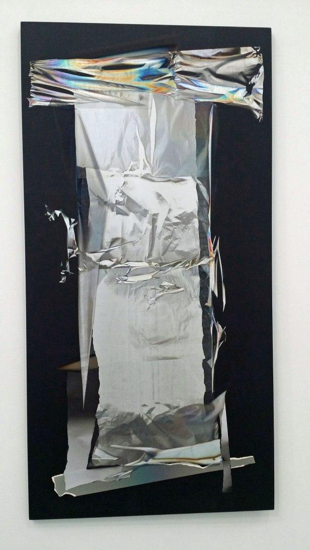 Larry Bell, La Fayette No 190, Mirage Painting, 1990. Fra utstillingen. Foto: Siri Wolland