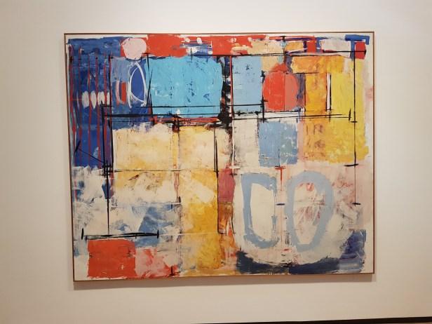 berøring er identisk med nærhet, 1968. Olje og tempera på lerret. Irma Salo Jæger. Foto fra utstillingen: Siri Wolland