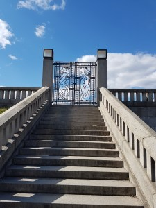 Gustav Vigelands jernporter i Frognerparken. Foto Siri Wolland