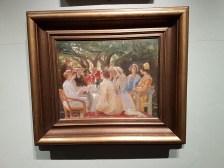 Michael Ancher (1849-1927), Et haveselskap, 1904. Foto fra utstillingen: Siri Wolland