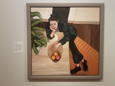 Ania Hobson (f.1990), Aina. Foto fra utstillingen: Siri Wolland