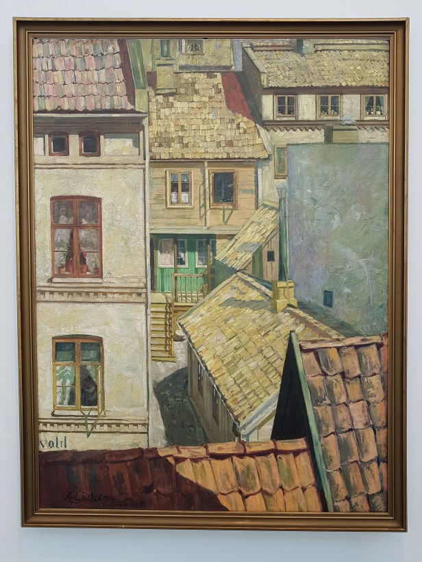 Kalle Løchen (1865-1893), Mange tak, 1885. Foto fra utstillingen: Siri Wolland.